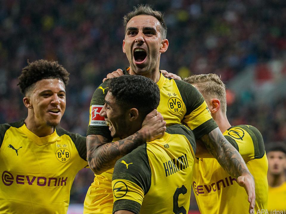 Spanier Paco Alcacer schoss die Schwarz-Gelben zum Sieg