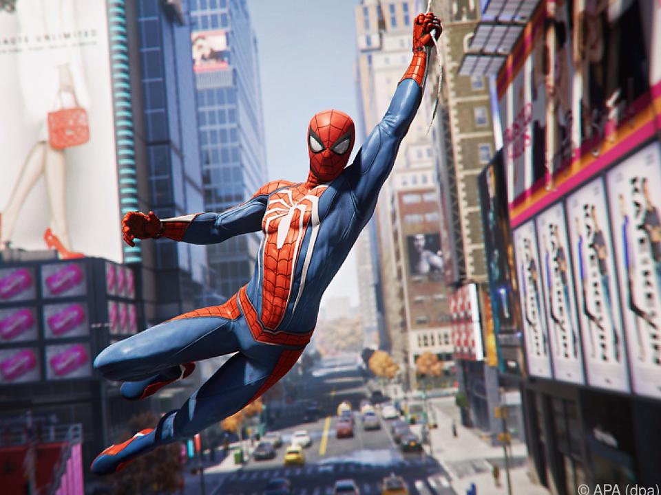 Am Spinnenfaden durch New York schwingen
