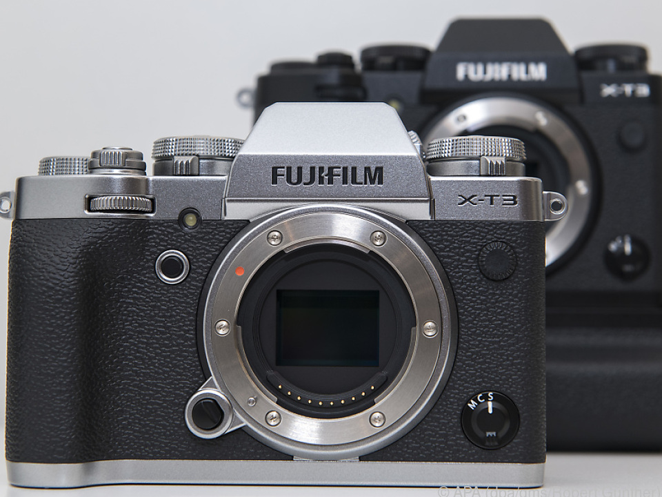 Gewohnt Retro: die Fujifilm X-T3 mit neu entwickeltem APS-C-Sensor
