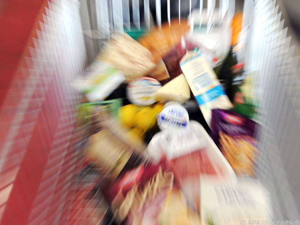 Täglicher Einkauf verteuerte sich um 2,4 Prozent