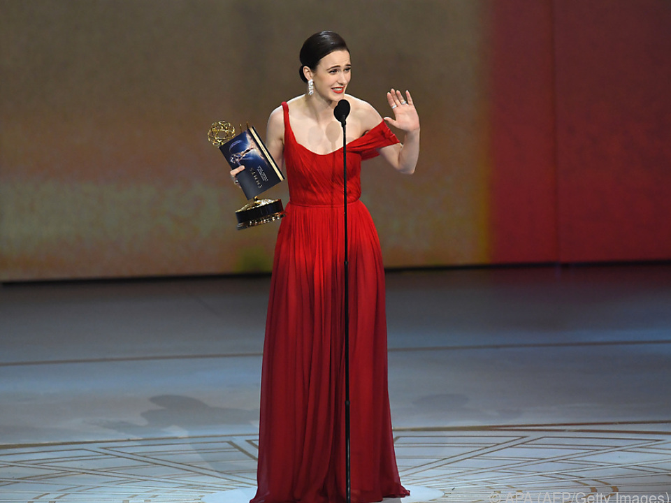 Rachel Brosnahan wurde als beste Schauspielerin geehrt