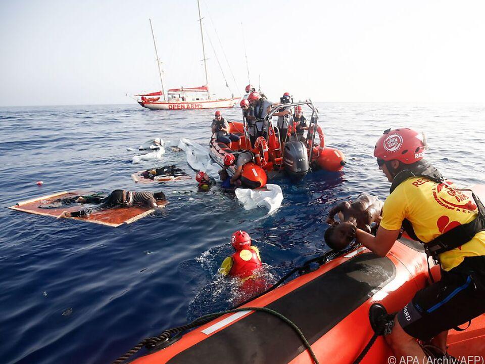 Trauriger Alltag im Mittelmeer
