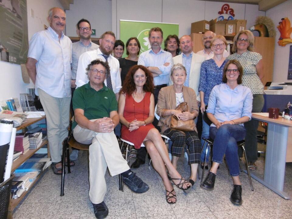 Treffen Gewerkschaften-Grüne - incontro sindacati-Verdi