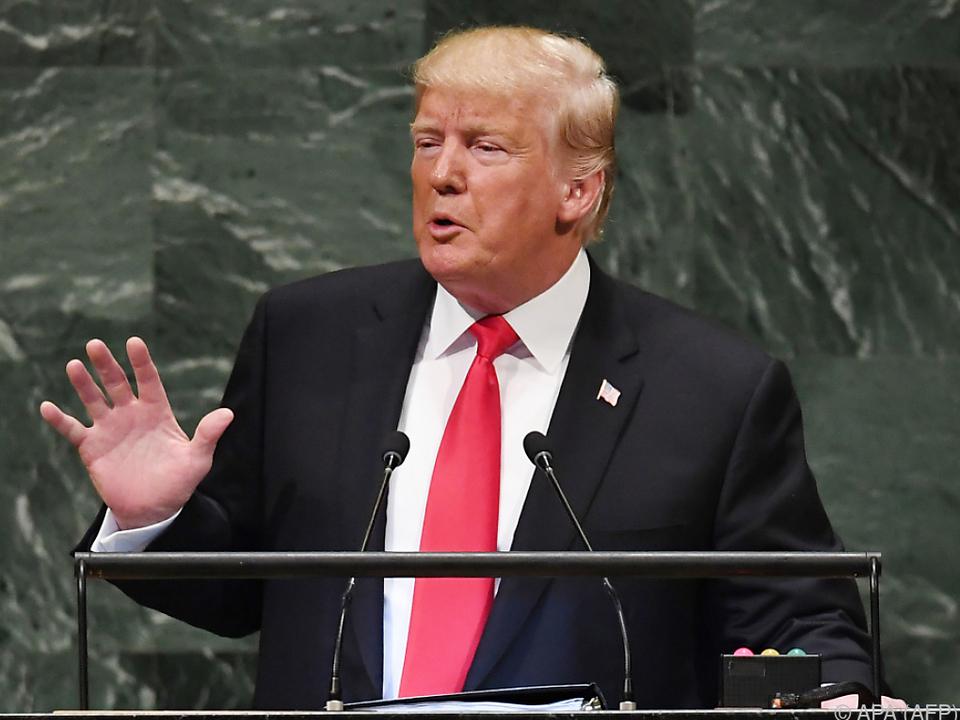Trump offenbart endlich Einstellung zu Konflikt