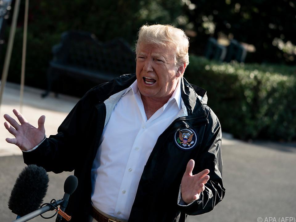 Trump setzt seinen Justizminister unter Dauerdruck