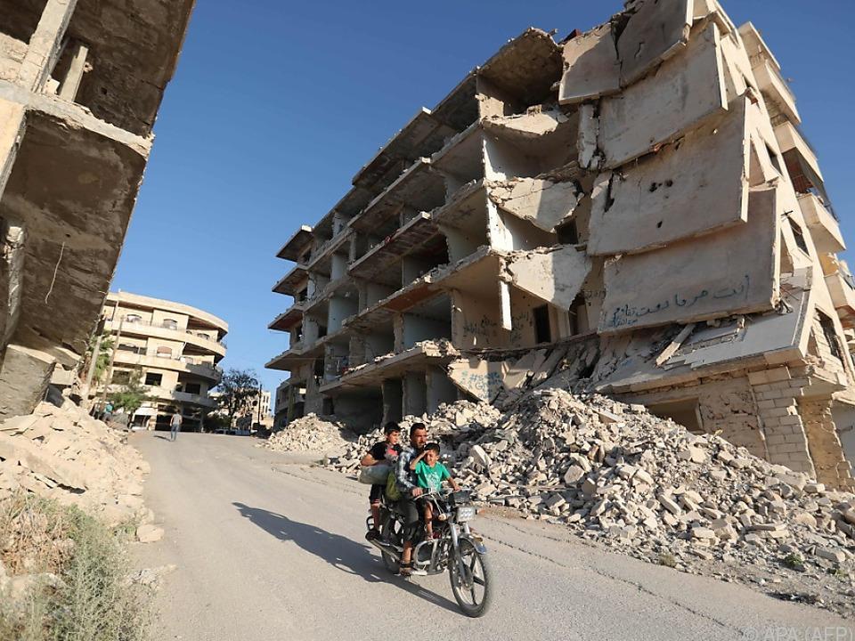 Um Idlib soll eine entmilitarisierte Zone entstehen
