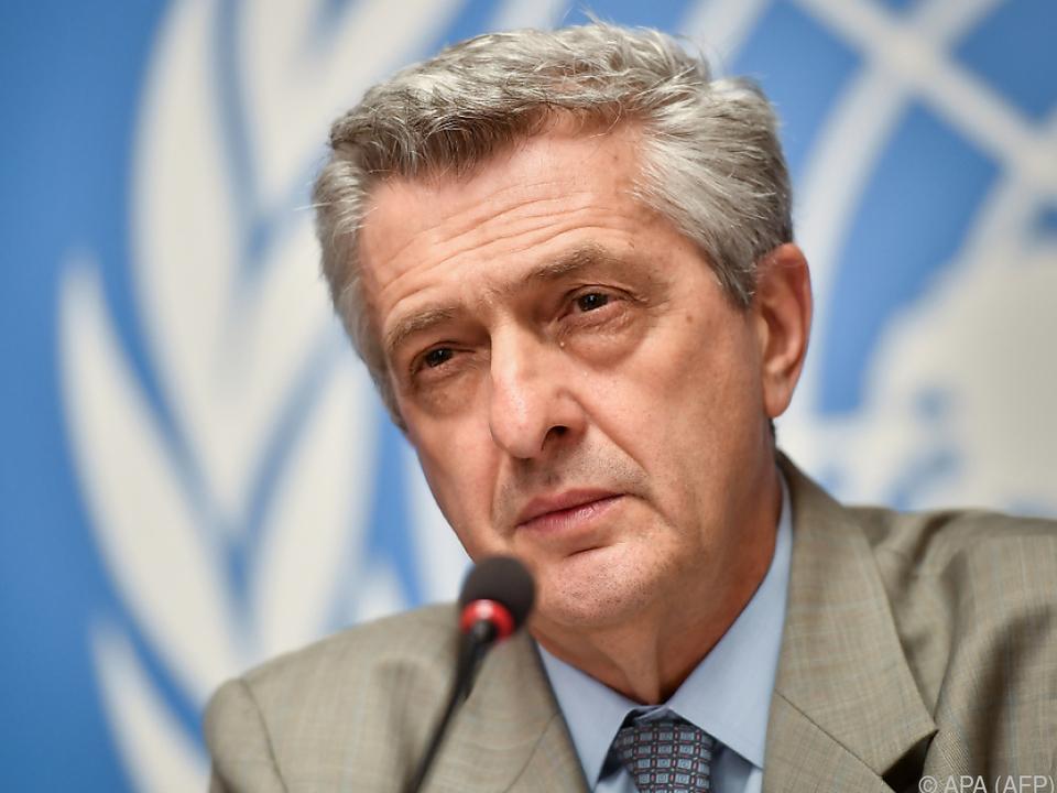 UNO-Flüchtlings-Hochkommissar Grandi: Keine Flüchtlingskrise in Europa