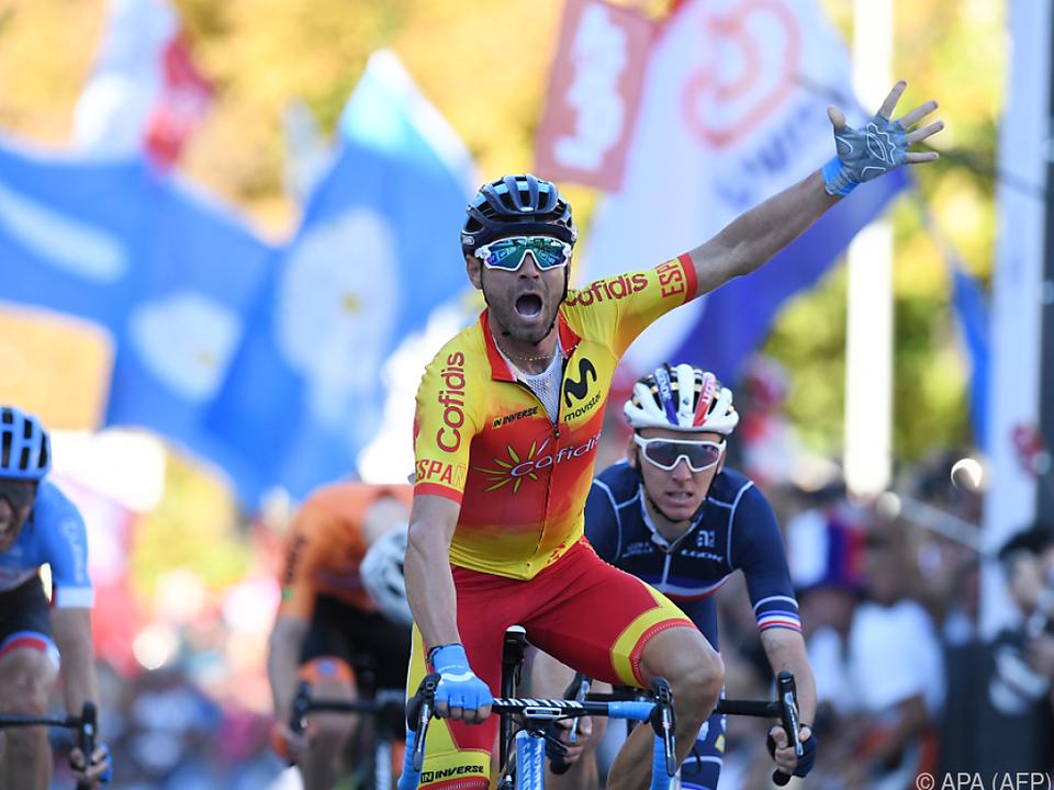 Valverde hing alle seine Konkurrenten ab