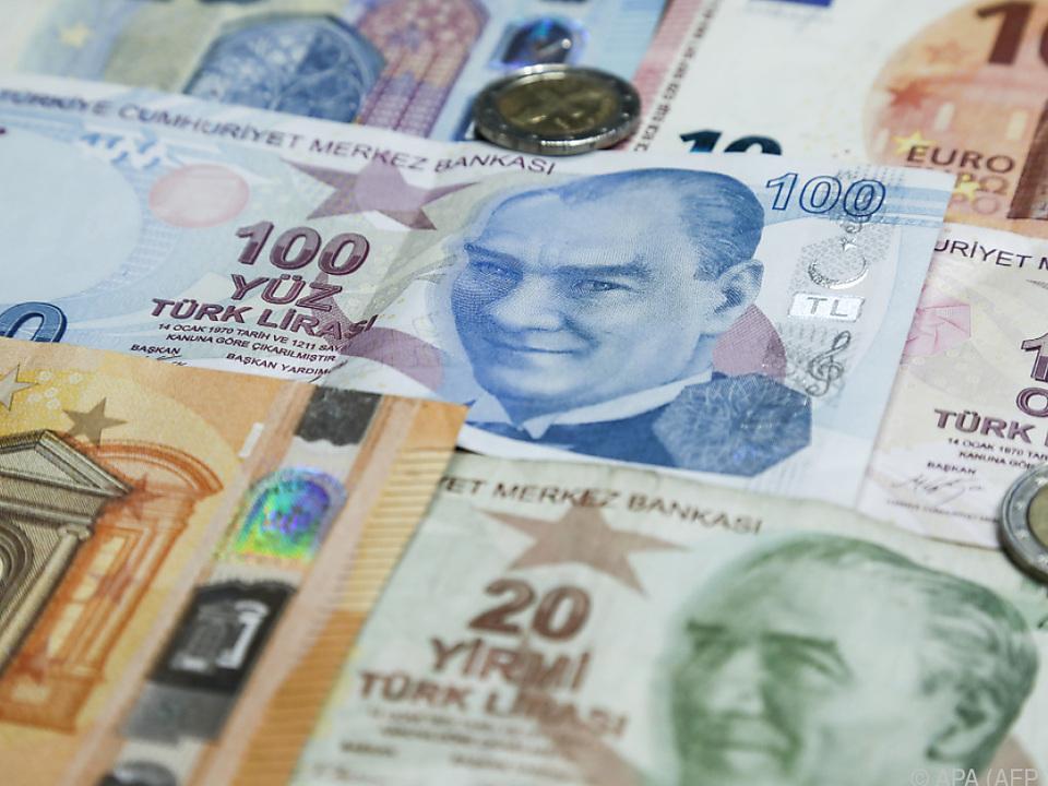 Vertrauen in die Lira nimmt ab