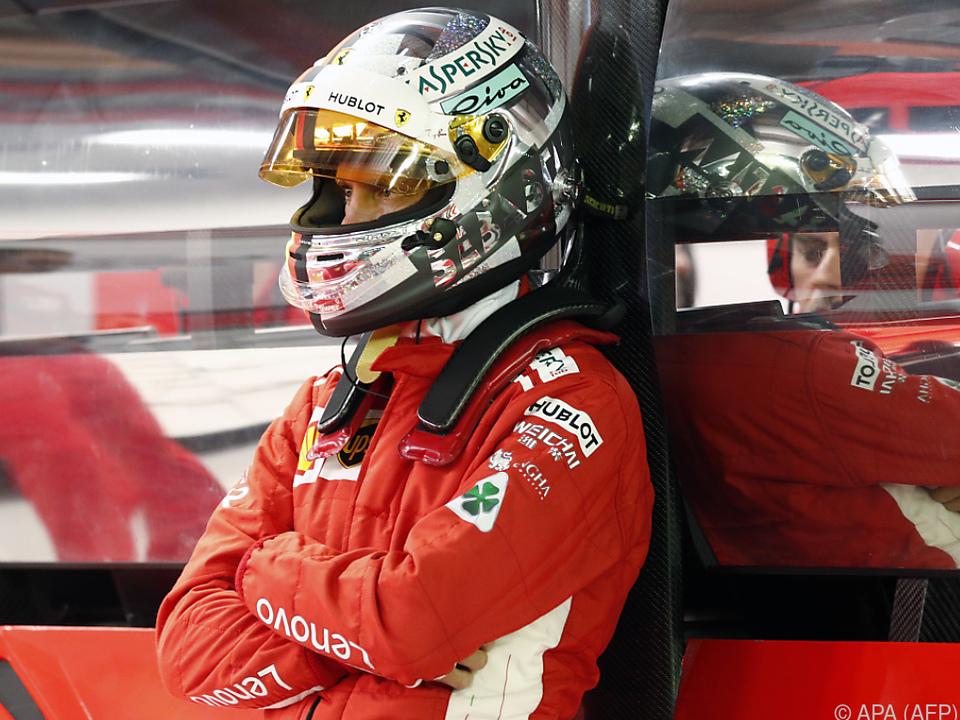 Vettel will noch nicht endgültig aufgeben