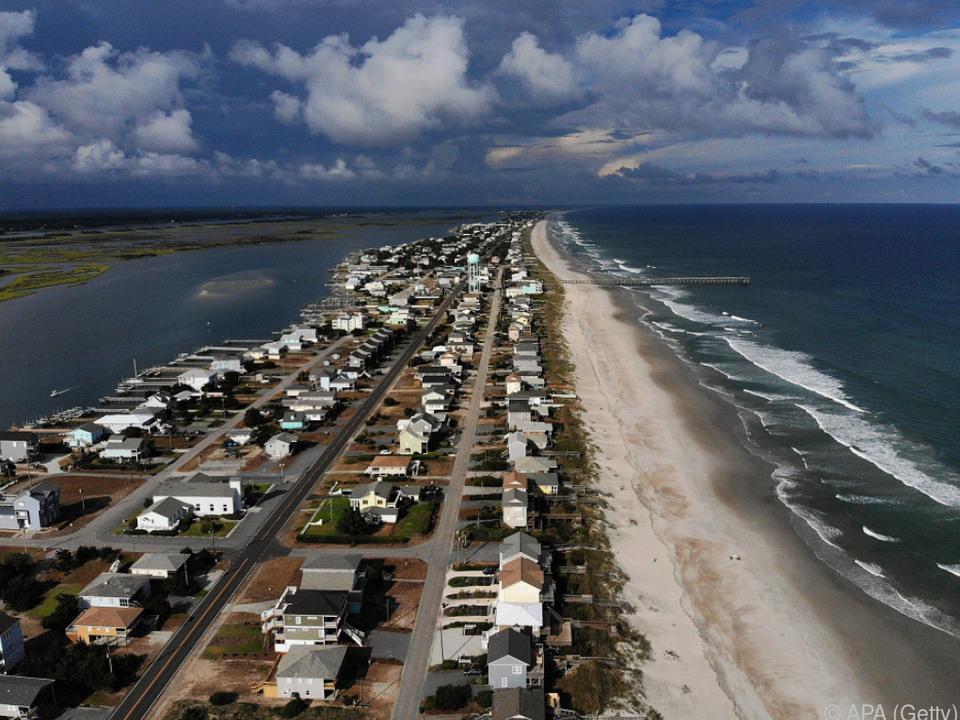 Viele Menschen in Küstennähe verließen ihre Häuser