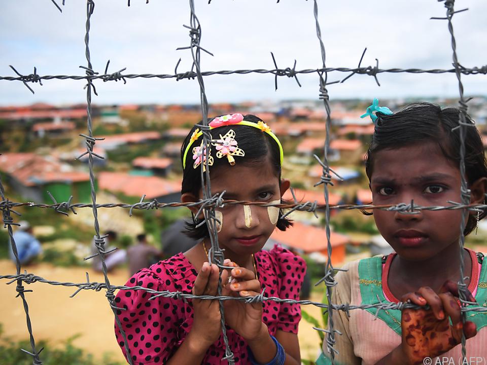 Viele Rohingyas wurden vertrieben