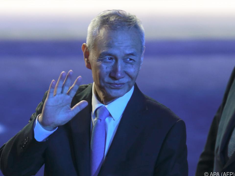 Vizepremier Liu He reist doch nicht in die USA