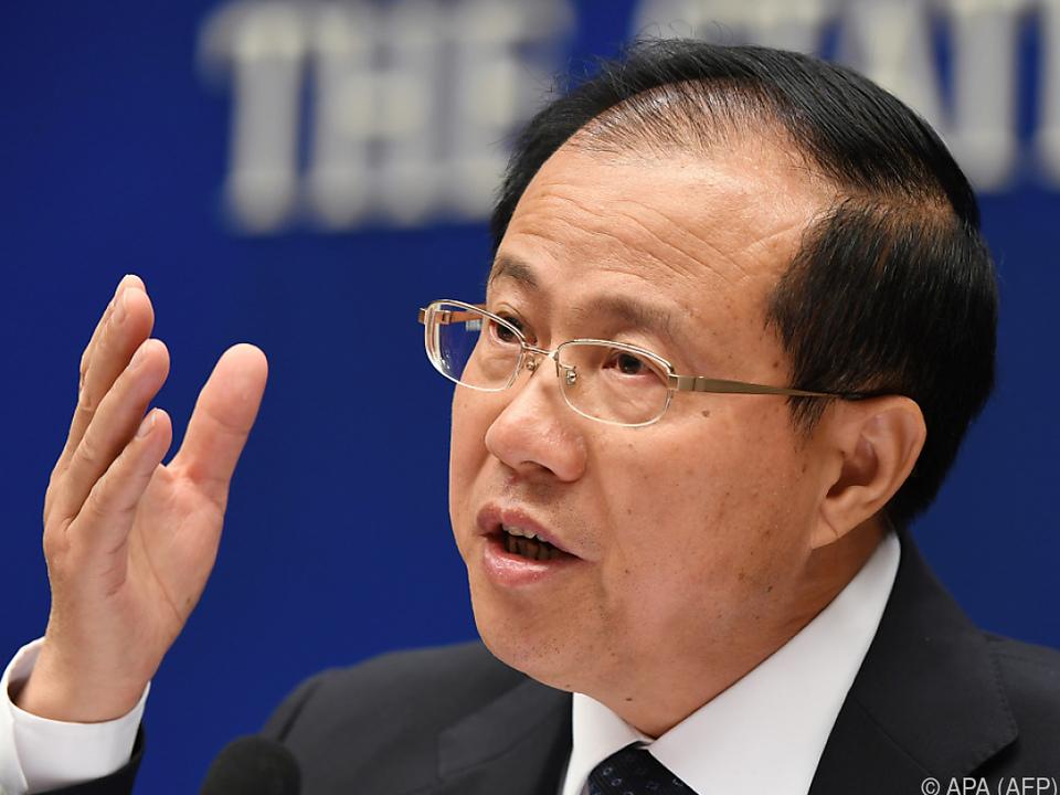 Wang Shouwen fand hinsichtlich des Handelskonflikts klare Worte