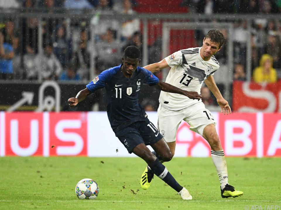 Weltmeister nur 0:0 gegen Deutschland