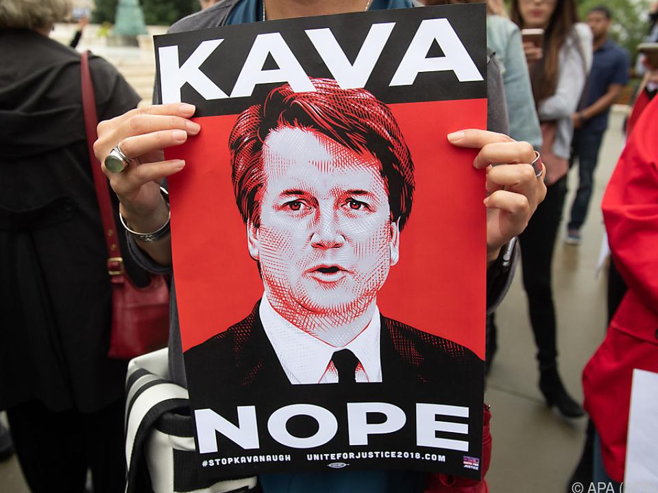 Widerstand gegen Kavanaugh als US-Höchstrichter wächst