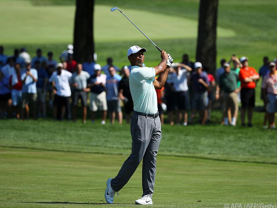 Woods zeigt sich weiter in Topform