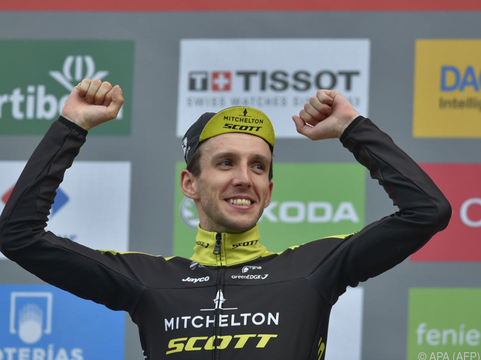 Yates wurde auf der vorletzten Etappe Dritter