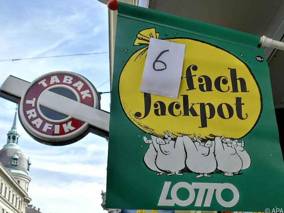 Zwei richtige Tipps bei Lotto-Runde mit Sechsfachjackpot