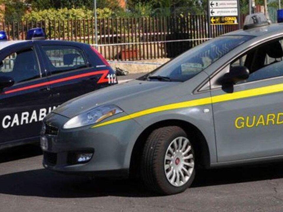 Finanzpolizei carabinieri