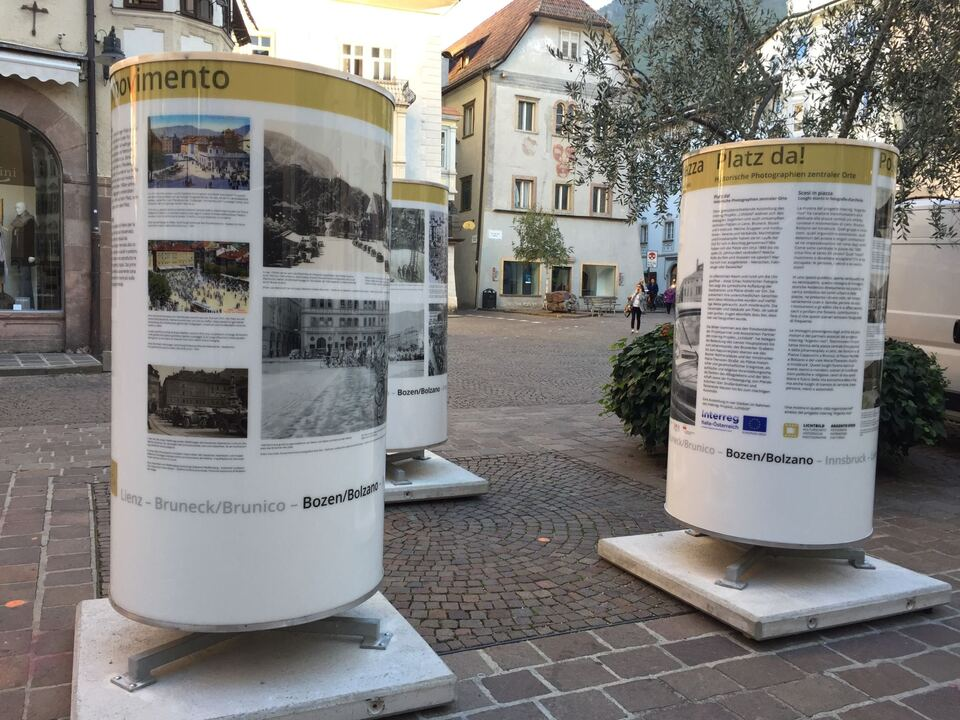 Historische Bilder, Kornplatz, Bozen