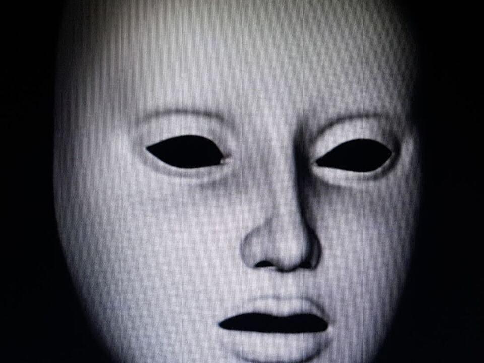 Optische Täuschung, Maske, Wölbung, Schizophrenie, Genialität