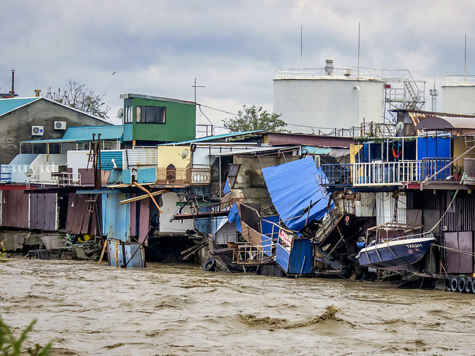30 Orte wurden bei den Unwettern überschwemmt