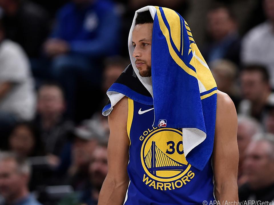 30 Punkte von Curry zu wenig