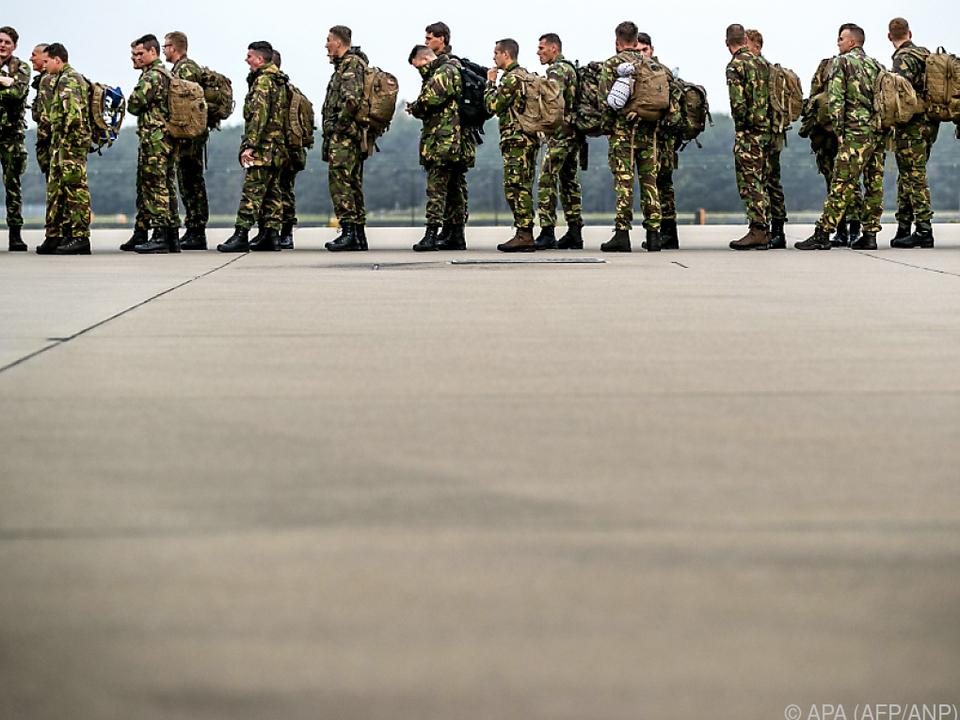 50.000 Soldaten sind an dem Manöver beteiligt
