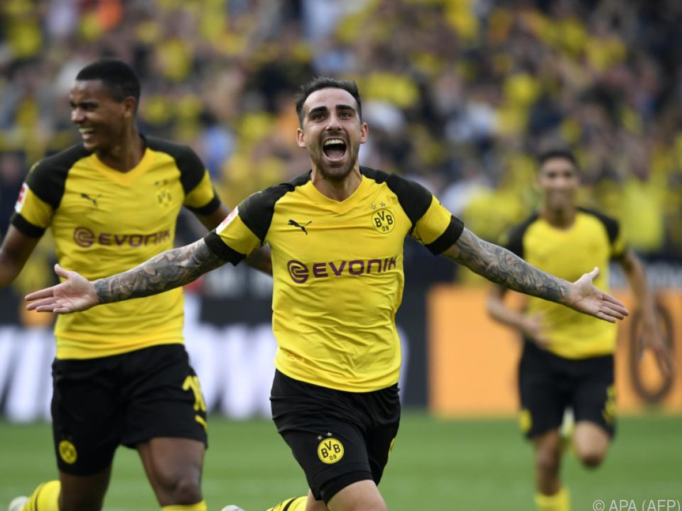 Alcacer avancierte zum Matchwinner für Dortmund