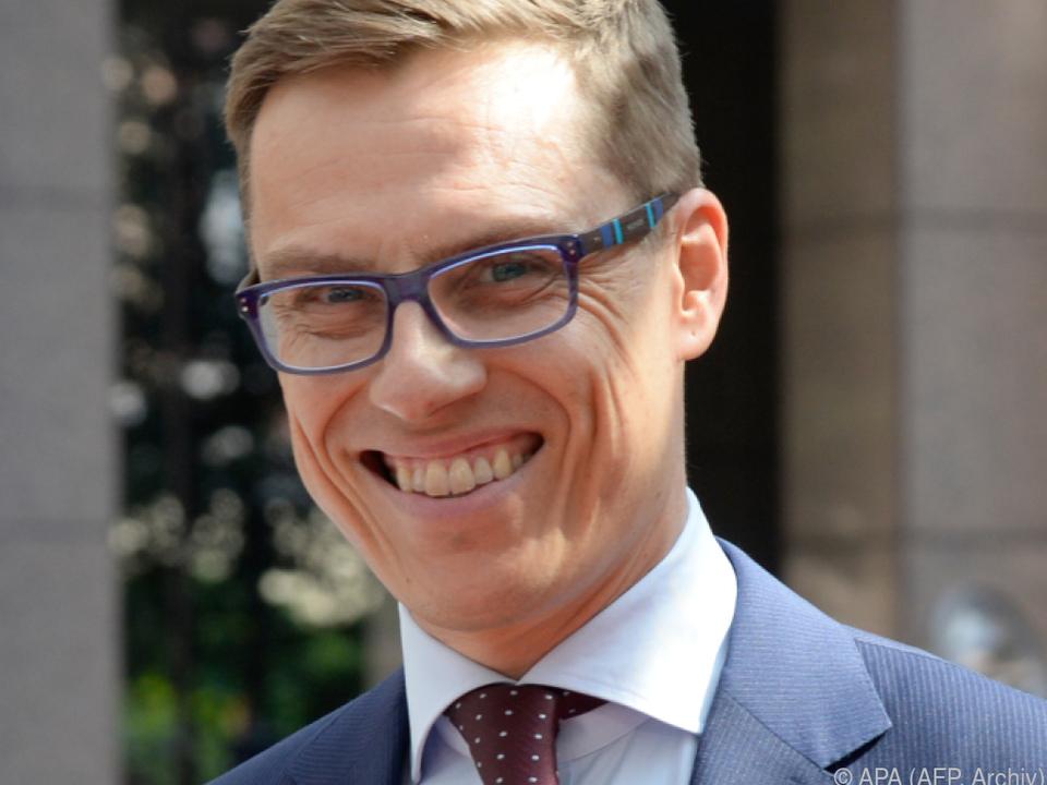 Alexander Stubb will EVP-Spitzenkandidat werden