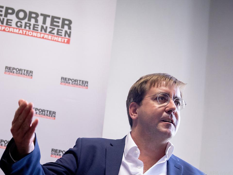 Auch Reporter ohne Grenzen fordern Aufklärung