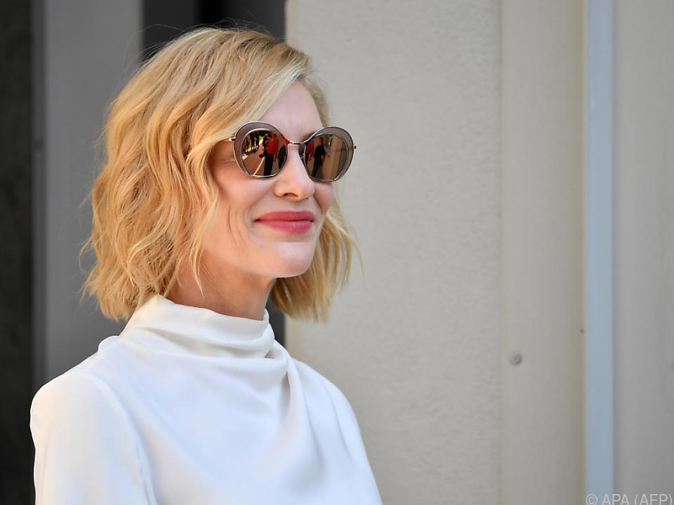 Auch Schauspielerin Cate Blanchett wird in Rom sein