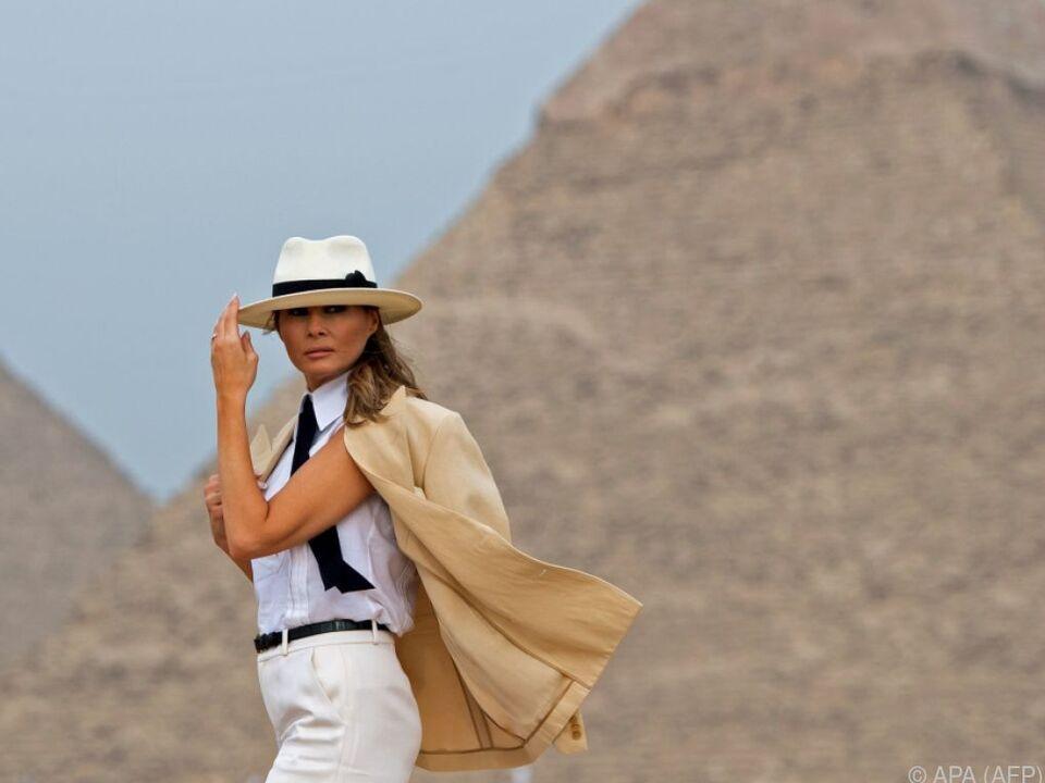 Auch zu ihrer Afrika-Reise gab es viele spöttische Kommentare