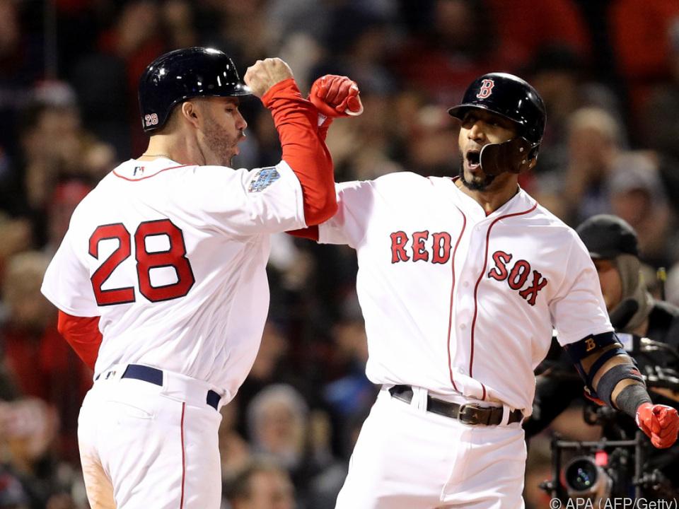 Auftakt nach Maß für die Red Sox