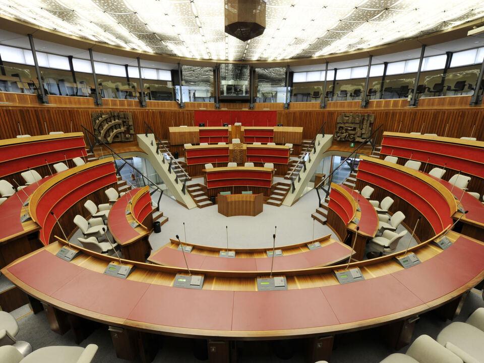 Regionalrat Aula-Consiglio, Trient, Landtag