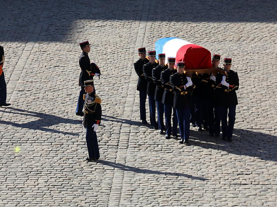 Aznavour starb am Montag im Alter von 94 Jahren