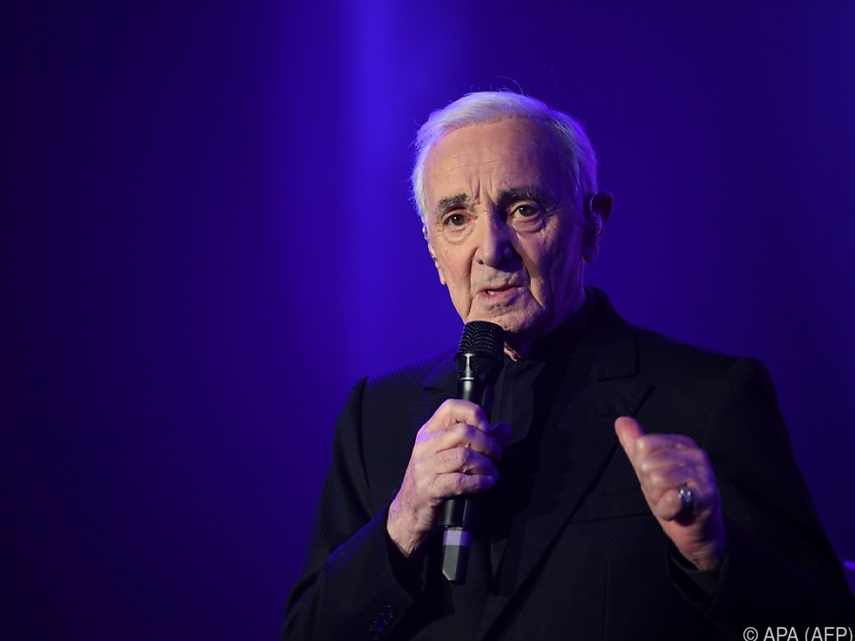 Aznavour wurde 94 Jahre alt