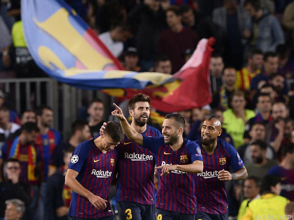 Barca bestand den Härtetest gegen Inter mit etwas Mühe