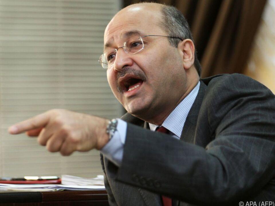 Barham Saleh ist Iraks neuer Präsident
