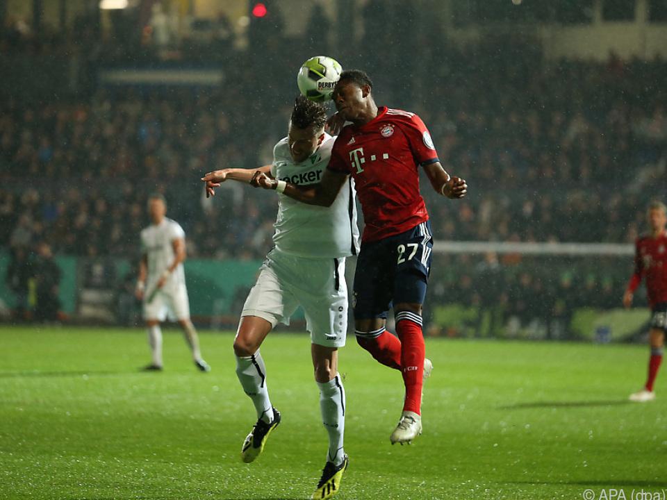 Bayern München glanzlos im Cup weiter