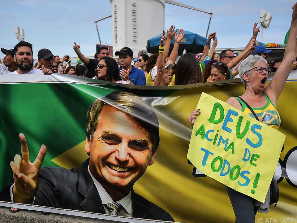 Bolsonaro äußerte sich wiederholt abfällig über Minderheiten