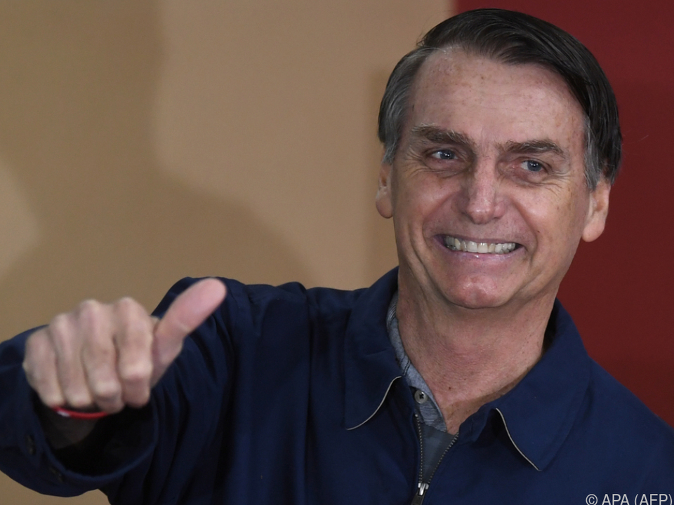 Bolsonaro wird auch \