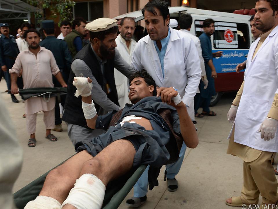 Bombenanschlag drei Wochen vor der Parlamentswahl in Afghanistan