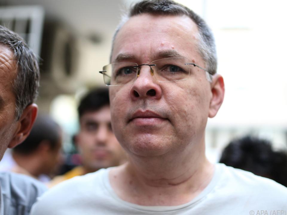 Brunson wird seit zwei Jahren in der Türkei festgehalten