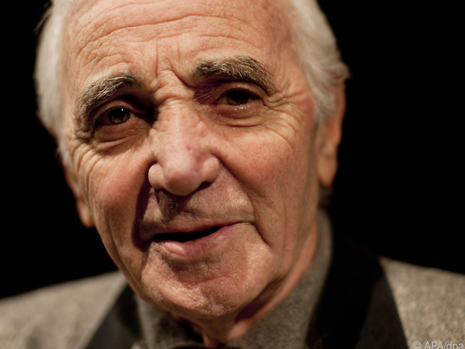 Charles Aznavour wurde 94 Jahre alt