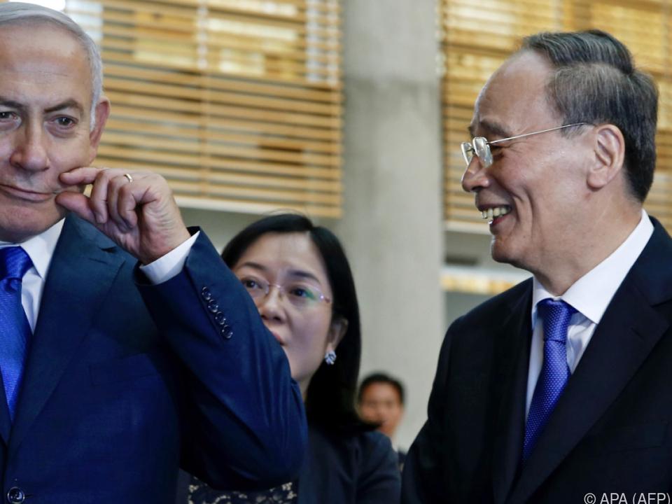 China und Israel wollen künftig enger zusammenarbeiten