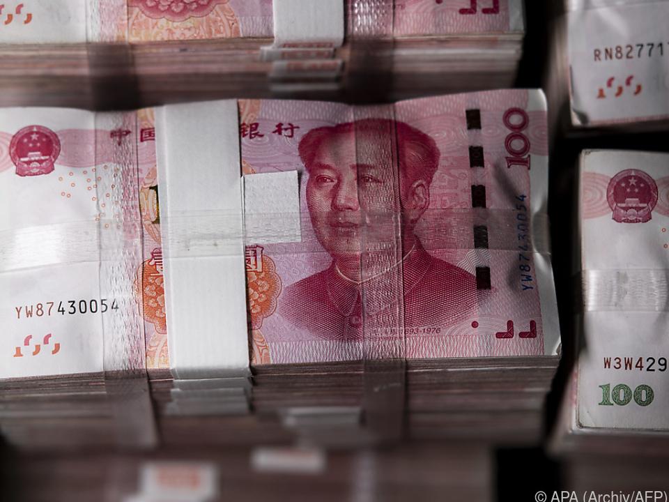 Chinesischer Yuan verlor zuletzt an Wert