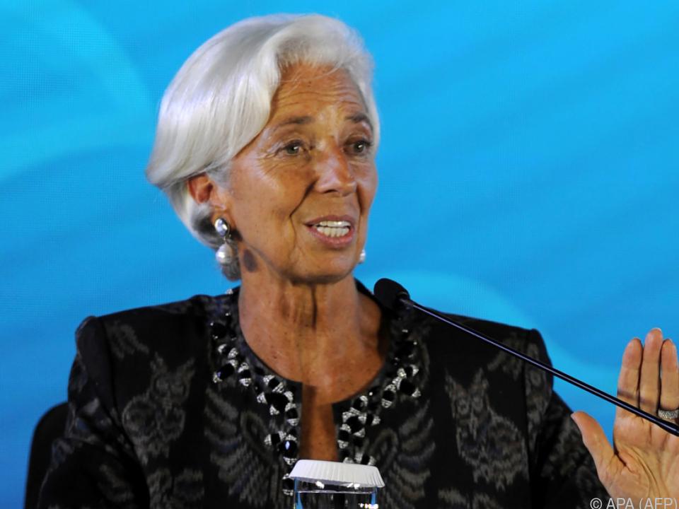 Christine Lagarde will Frauen ermutigen