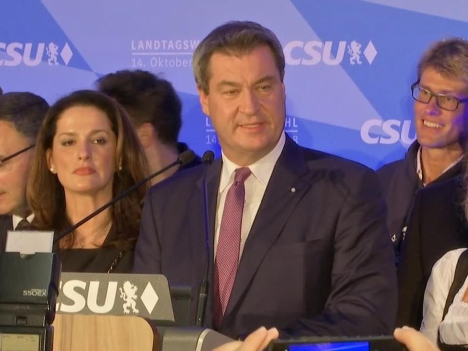 CSU stärkste Kraft in Bayern